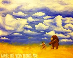 Where The Wild Things Are by adamXXII