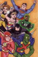 JUSTICE LEAGUE- Magnificent Seven (For Jacob) by Dreven