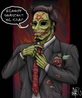 WormWood: Gentleman Corpse by chitototoy