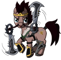 Draven : The Glorious Executioner Stallion by LadyBelva