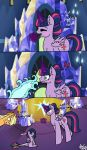 Magic flames? by SnoozyPony