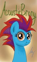 Brony Musicians that Inspired Me #2-AcousticBrony by PonyAdler86