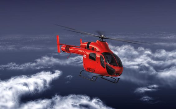 MD 500 Hughes by Carart