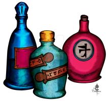 Potions by CarlosTorreblanca