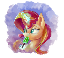 Sunset Treat_Speed Painting by Tsitra360