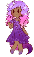 Purple Unicorn adopt [NO] by Pyonkotcchi