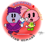 REmake - Chowder and Panini Retro GIMP by murumokirby360