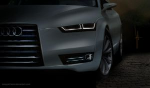 Audi A6 2014 concept by keegancheok