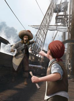 The Adventures of Tintin - On Stranger Tides by cerkvenik