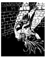 A Batman by ANDYTAYLOR-GARBAGE