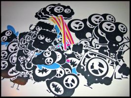 Stickers by Hixtril