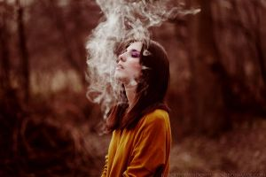 smoke by blooding