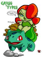 ANYA's GRASS TYPES by DeadDog2007