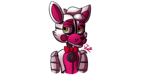 FNAF: SISTER LOCATION - Funtime Foxy the Pirate by ChocoWhite-QueenDuck