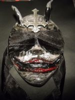 OOAK Blind Demon Mask by TheLivingKey