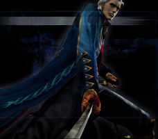 Devil May Cry 3 SE - Yamato Vergil Mission Clear 3 by Elvin-Jomar