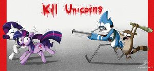 .:Kill Unicorns:. by The-Butcher-X