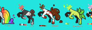 Headless Horses! by Late-Night-Cannibals