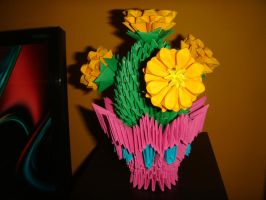 3D Origami by ahsurt