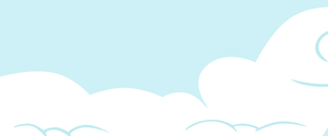 Clouds Background - MLP(My Little Pony) by TomFraggle
