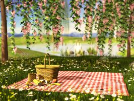Spring Picnic by Trisste-stocks