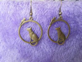 Previews_earrings Cats by Dedechoutinette