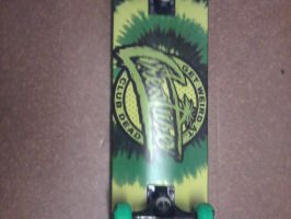my new creature skateboard by sp33dd3mon