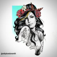 Amy Winehouse by qyoo