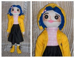 Coraline's Doll Plush by Geisha-Neko