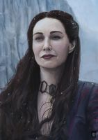 Melisandre - Game Of Thrones by Russtiel