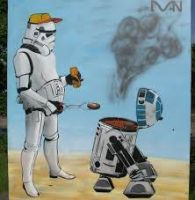 BBQ like a Imperial by OddGarfield