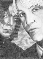 Snape and Malfoy by Going-Downhill-Fast
