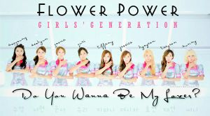 Flower Power by Girls' Generation by shirlysnowiie