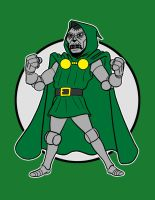 Dr.Doom remastered by AlanSchell