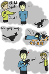 Spock + Kitten = by TartineChocolat