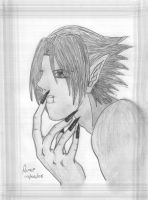 Sasuke vampire by Tales-of-sharingan