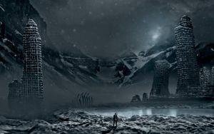 The coming glaciers by alexiuss