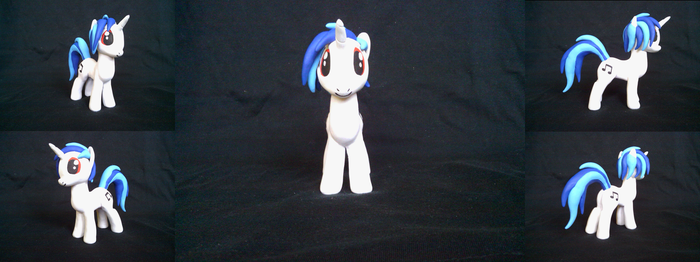 Vinyl Scratch sculpture by 69norbi