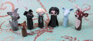 Wobbles: Harry Potter Group by okapirose