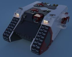 WIP: Land Raider 2 by xxovercastxx