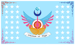 ROYAL EQUESTRIA FLAG (Stars and Wings) by frans97