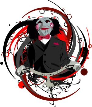 Billy from saw by almostvectors