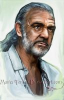 Sean Connery by MariaTeresa1012