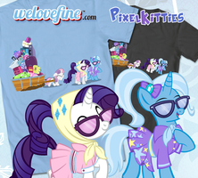Never Trust Wheels Shirt from We Love Fine by PixelKitties