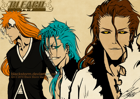 Mullet BLEACH men by blackstorm