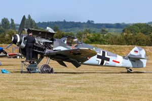 Messerschmitt ME109 G-4 by Daniel-Wales-Images