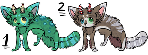 : Creatures : Name your price Closed by StripedSock-Adopts