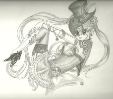 SteampunkSailorMoon by Id0ntlikeyou