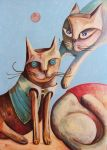 CATS IN MARCH by broda502