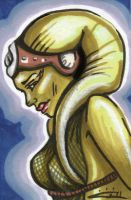 Oola - Sketch Card by blue-but-beautiful